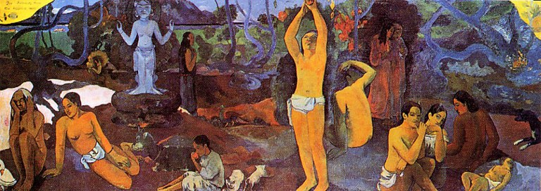 Paul Gauguin - D'où venons-nous? Que sommes-nous? Où allons-nous? - 1897