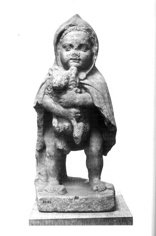 Enfant et chien (Athènes - copie du I siècle)