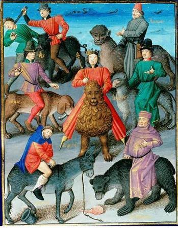 Les vices - France - fin du XIV siècle