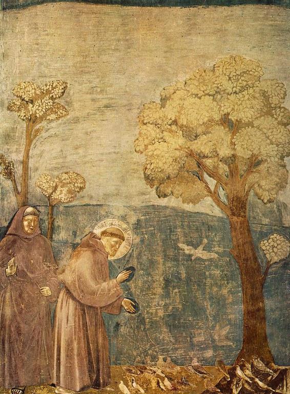 Giotto - San Francesco predica agli uccelli
