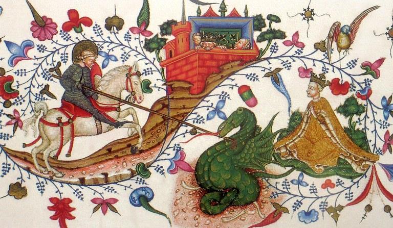 Saint Georges - vers 1430