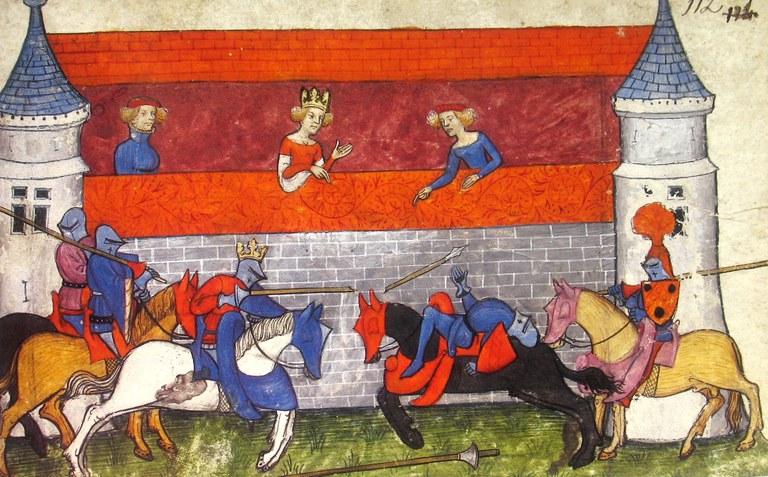 Tournoi des vices - vers 1400