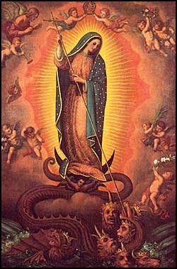 Vierge-serpent