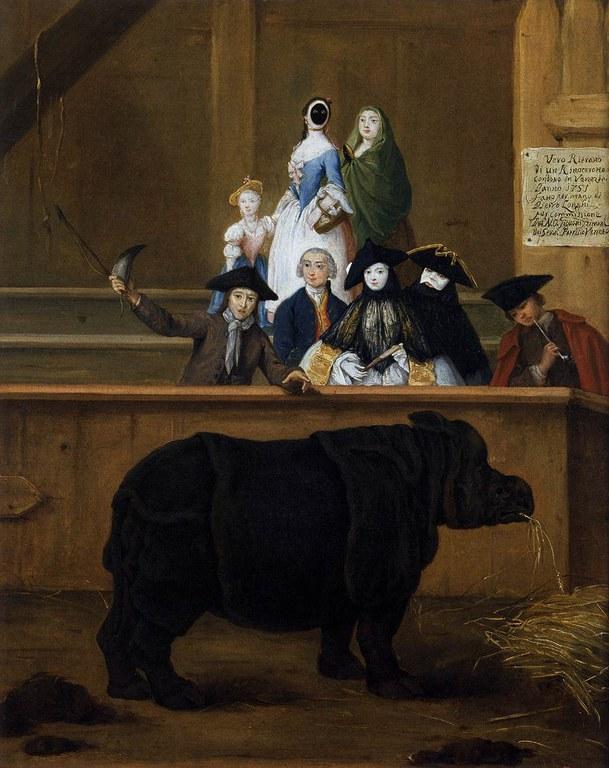 Pietro Longhi - Il rinoceronte