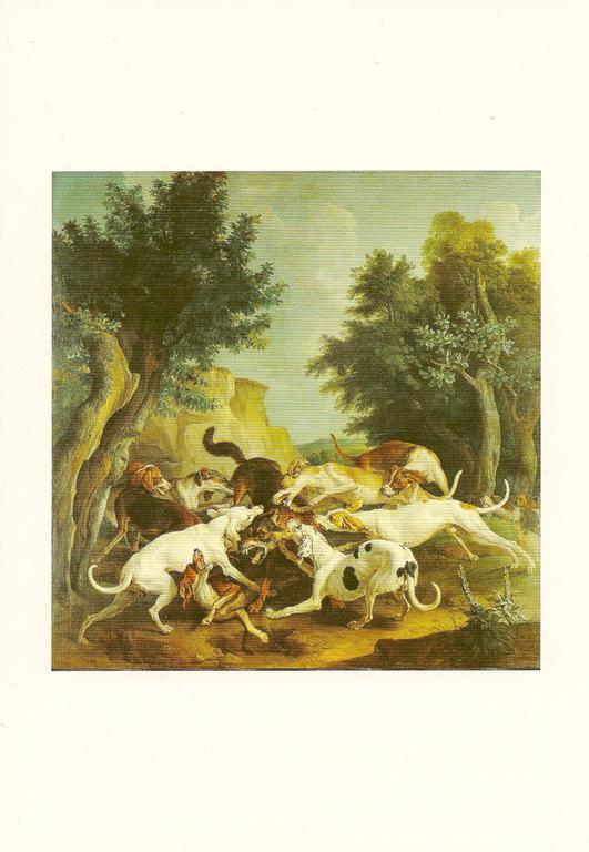 François Desportes - Chasse au loup - 1725