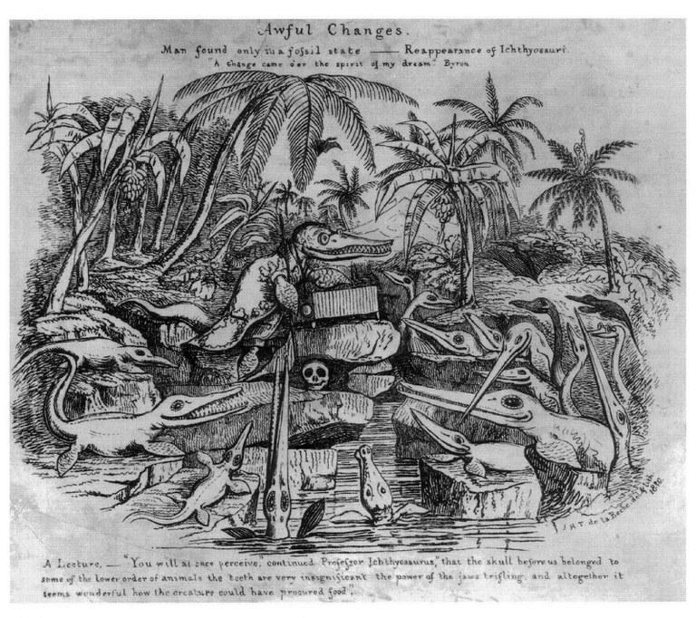H. de la BECHE - ProfIchthyosaurus - 1830
