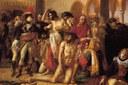 Bonaparte visitant les pestiférés (détail) - Antoine-Jean Gros, 1804