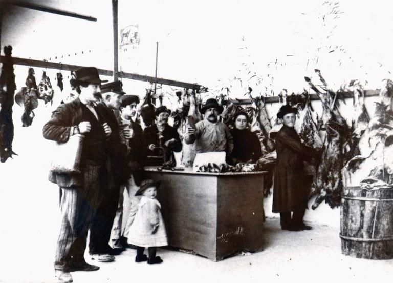 Boucherie à Cornuda - TV - Italie - 1915