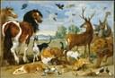 Paul de Vos - Paradis terrestre - XVII siècle